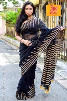 Cotton Saree, Cotton Silk, Casual Saree, Ikkat Saree, Silk Sarees Online, Party Wear Sarees, Saree Styles, Indian Wear, Harem Pants