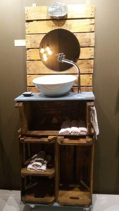 Projeto Eco lavabo criação: THAIANA BRAGA exposto MORAR MAIS POR MENOS 2015 RJ