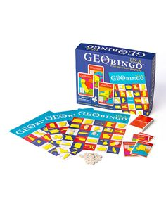 Take a look at this GeoToys USA GeoBingo on zulily today!