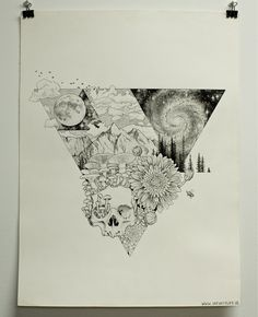 """Transcendence, Microns, A2, many hours and lots of dots, one of my favorite creations to date"" - Imgur"