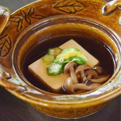 "@kitaohji_thailand  ""Yudofu""  Tofu and vegetable hot pot included vegetarian course  湯豆腐 ベジタリアンコースの一品  #kaiseki #cuisine #kitaohji #vegetarian #vegetable #tofu #yudofu #野菜 #豆腐#湯豆腐 #ベジタリアン #japanesefood #instafood #foodpic #foodporn #japanesecuisine #authenticjapanesecuisine #dinner #yum #yummy #thonglor #bangkok #sukhumvit #อาหารญ by thejapanesecuisine"