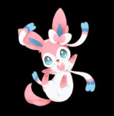 Eveee in her baby fairy type. Adorableness