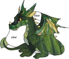 dragon patterns free downloads | baby dragon baby dragon stained glass pattern pattern by ironicparadox ...