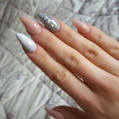 Pink, silver and nude