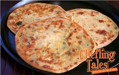 Egg Paratha- Zee's Favorite Breakfast