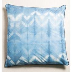 UNC MEETS INDIGO - Floor Cushion Shibori