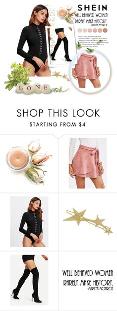 """SHEIN I/10"" by women-miki ❤ liked on Polyvore featuring WALL and Deborah Lippmann"