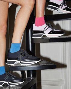 Upside down with the URBAN TREK sneakers New winter 2016 collection #wcw #PierreHardy #PierreHardyUrbantrek #sneakers
