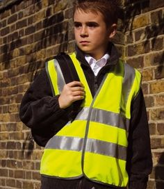 Kids Hi-Vis http://www.bestworkwear.co.uk/workwear/hi-visibility-clothing/portwest-hi-vis-junior-vest.html