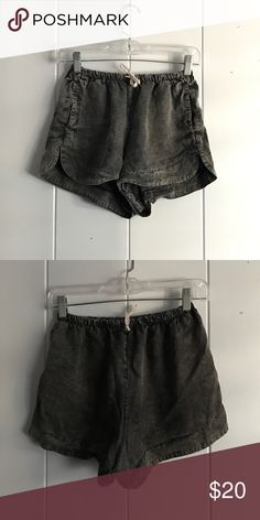 Brandy Melville Acid Wash Shorts Great condition shirts with no signs of wear, excellent condition. Fits a S/M although it's OS. Brandy Melville Shorts