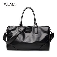 Luxury Brand Men Fashion Split Leather Large Capacity Travel Duffle Totes  Top Handle Luggage Handbags Shoulder Bags For Male f2ad9edde065a