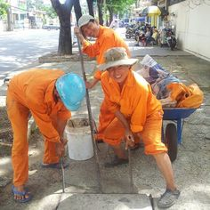 Men at work in Saigon. These guys saw my camera and insisted on posing for me. Happy to oblige. Working Man, Ho Chi Minh City, Real Men, Vietnam, Poses, Guys, Happy, Instagram, Figure Poses