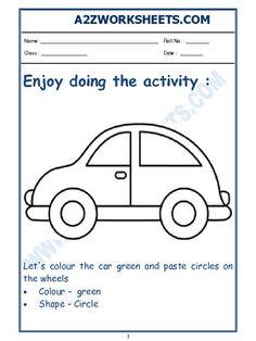 Printable English Worksheets, English Worksheets For Kindergarten, Hindi Worksheets, English Activities, Kindergarten Worksheets, Worksheets For Kids, Nursery Worksheets, Nursery Activities, Toddler Activities