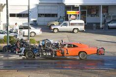 Dukes of Hazard car rig
