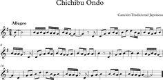 Chichibu Ondo. Canción Tradicional Japonesa.
