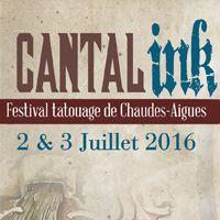 Le Cantal Ink est de retour les 2 et 3 juillet 2016 à Chaudes-Aigues (Cantal). Le Festival du tatouage revient plus fort que jamais et vous proposera un plateau de tatoueurs toujours aussi exceptionnel, le tout dans une ambiance familiale. La billetterie est ouverte, n'attendez plus pour réserver vos billets et faire partie de l'aventure.
