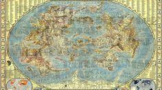 Mapa del internet en el mundo, señalando la geopolitica y geografia del Internet - Geopolítica de Internet. Blog Elcano. -Jhabich