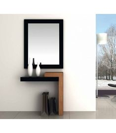 Furniture Design, Mirror Decor Living Room, Interior Furniture, Wall Mounted Dressing Table, Bedroom Cupboard Designs, Wood Wall Design, Entryway Decor, Home Decor Furniture, Kitchen Furniture Design