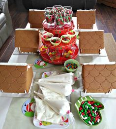 information on making gingerbread houses - Google Search