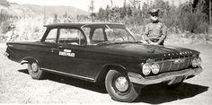 1961 Biscayne partol car