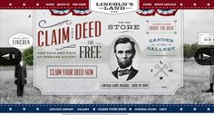 30 Web Designs Featuring Vintage Style Typography