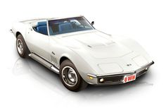 Did you see this #Vette on #Velocity TV? It was featured in a Legendary Motor Sports show. 1969 427 Corvette Convertible with blue interior. Sweet!