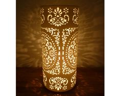 Ceramics Lamp lighting  - these are lovely.  Futon Company