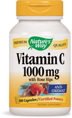 Nature's Way Vitamin C 1000 with Rose Hips, 100 Capsules -- Continue to the product at the image link. (This is an Amazon Affiliate link)