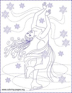 Ice Skater Coloring Page Luxury Skating Coloring Pages Lego Coloring Pages, Printable Coloring Pages, Coloring Pages For Kids, Coloring Sheets, Adult Coloring, Coloring Books, Ice Skating Party, Skate Party, Abraham And Lot