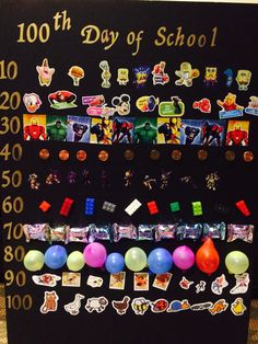 100 day of school poster - 100 Days of School 💯 100th Day Of School Crafts, 100 Day Of School Project, School Days, School Projects, School Stuff, 100 Days Of School Project Kindergartens, School Posters, Holiday Activities, Educational Activities