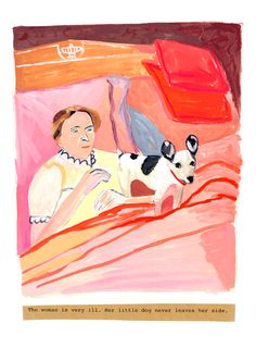 Maira Kalman, from the principles of uncertainty
