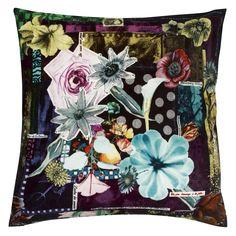 Romancero Onyx Throw Pillow | Designers Guild