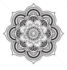 Mandala Color It Yourself!