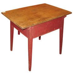 French Canadian Side Table
