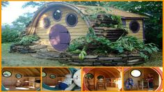 Hobbit Hole Playhouse!