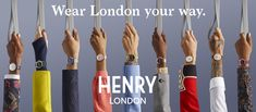 Henry London Japan Official Site