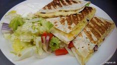 Snack it Quesadilla vs El Gato Quesadilla | Na pive Quesadilla, Sandwiches, Snacks, Food, Gatos, Appetizers, Quesadillas, Essen, Meals