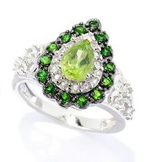 V3 Jewelry Sterling Silver 1.43 cttw Peridot, White Topaz and Chrome Diopside Pear Drop Ring V3 Jewelry http://www.amazon.com/dp/B017BLKDCA/ref=cm_sw_r_pi_dp_tRHrwb13GH2WC