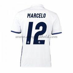 Fodboldtrøjer La Liga Real Madrid 2016-17 Marcelo 12 Hjemmetrøje