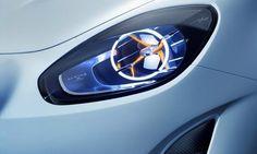 Фары. Элементы дизайна концепта спорткара Renault Alpine Vision / Рено Альпина Вижн