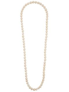 CHANEL VINTAGE PEARL CHAIN NECKLACE