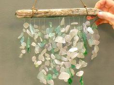 Sea Glass Crafts | Sea-Glass Mobile - Martha Stewart Crafts | Crafts