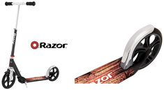 Check Razor lux kick scooter in black from the best folding scooter for 8 years old and above boys and girls and adults. Kids Ride On Toys, 8 Year Old Boy, Kick Scooter, Big Wheel, 8 Year Olds, Old Boys, Scooters, A5, Cool Kids