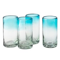 so i've decided i really want recylced glass for all of my drinking glasses & pitchers... where to find them for cheaper?