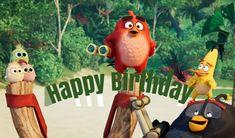 Angry Birds 2 Birthday Ecards Happy Birthday Ecard, 2nd Birthday, Birthday Cards, Birds 2, Angry Birds, Betty Boop Cartoon, Ecards, Greeting Cards, Christmas Ornaments
