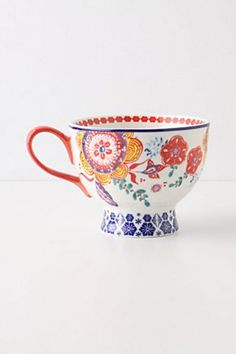 Sip-of-nectar mug from Anthropologie...  One in each colour please