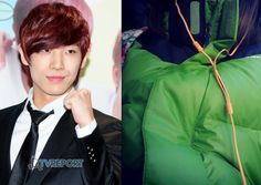 MBLAQ's Lee Joon gifts parkas to the staff of 'An Actor is an Actor'