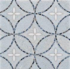 Artiste Stone Mosaic - Ann Sacks Tile & Stone eclectic kitchen tile