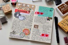 Meu diário de viagem novo - ScrapBi