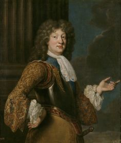 Louis, the Grand Dauphin of France, fils de Louis half of the c., oil on Museum. Louis Xiv, Bourbon, Philippe V, Ludwig Xiv, Troy, Madrid, French Royalty, Maria Theresa, Queen Mary